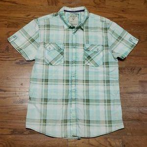 Guess Short Sleeve Button Down Shirt